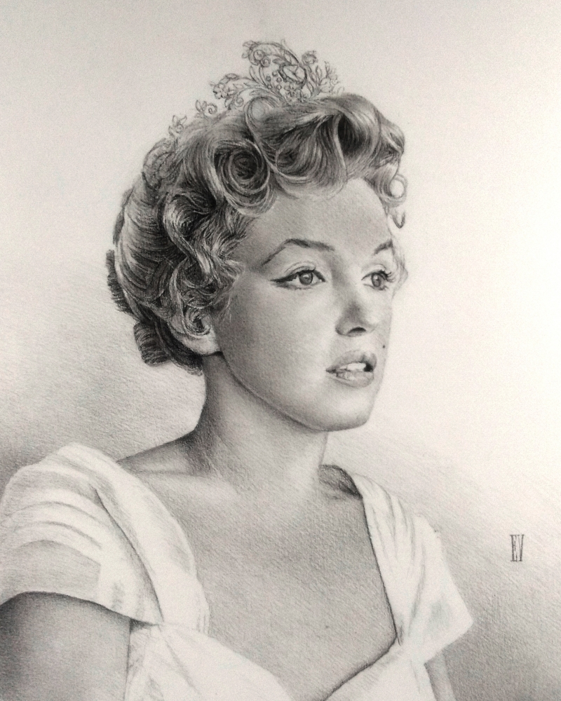 Marilyn Monroe par Eos
